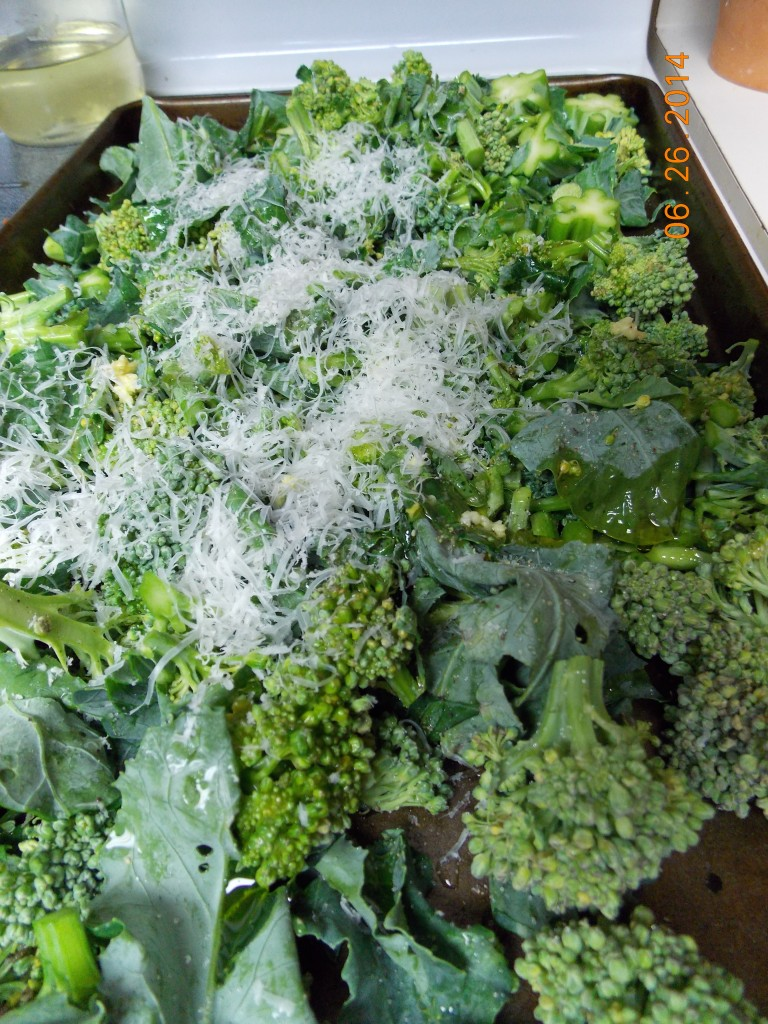 Garlic Parmesean Roasted Broccoli