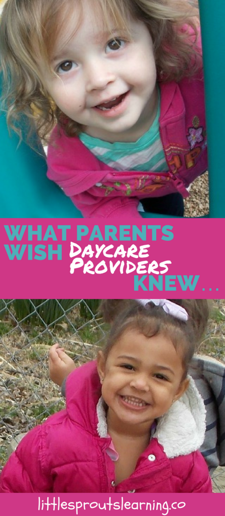 What Parents wish daycare providers knew