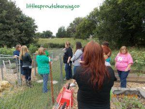 daycare garden tour