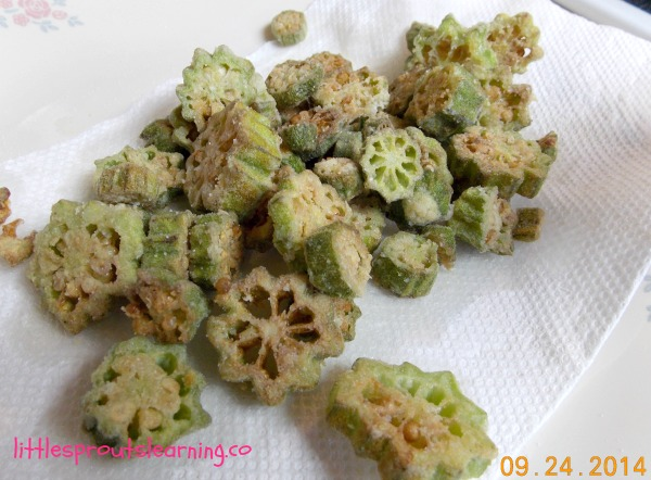 fried okra - How To Freeze Fresh Okra