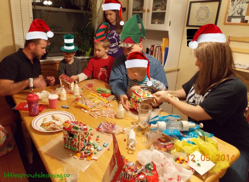 gingerbread creating