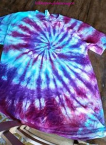 tye dye creation