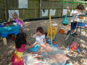 Throwing a marvelous art party for preschool