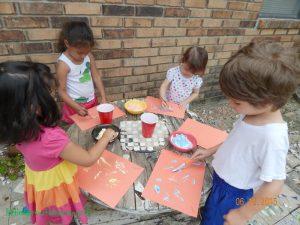 art party for preschool