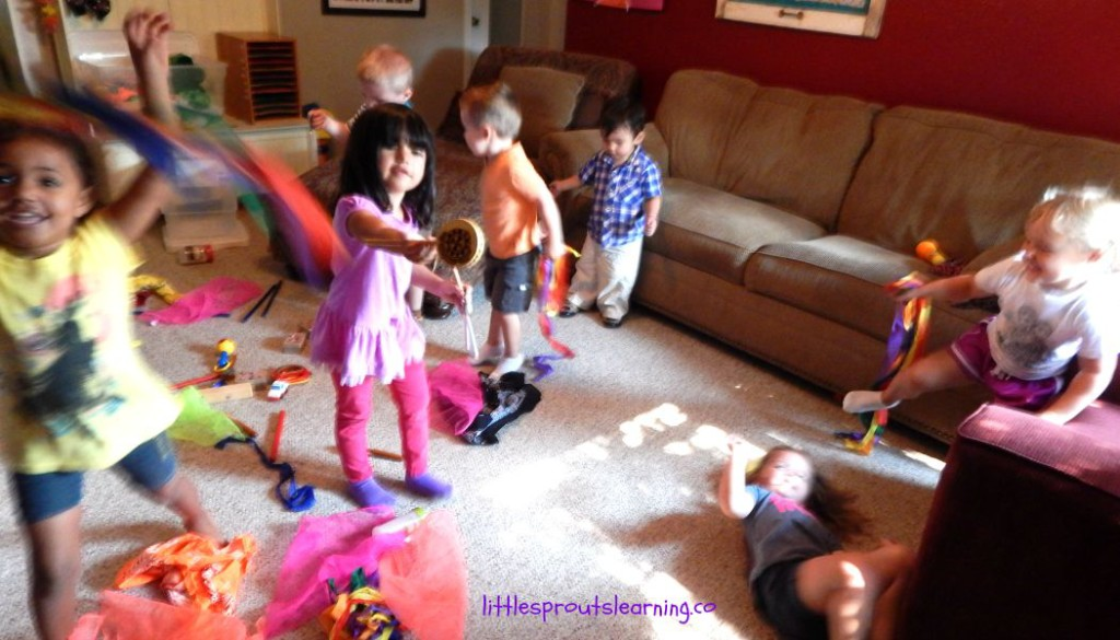 preschool lesson plans, music and movement
