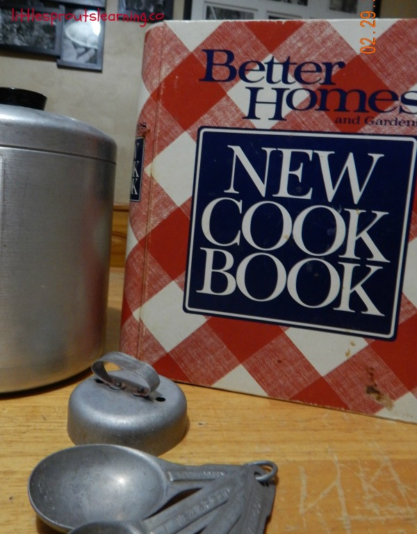 Better HOmes and Garden cookbook, inspiration for cooking, cooking with kids.