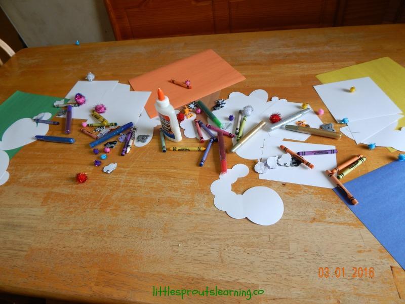 creative art, open ended to nurture self esteem