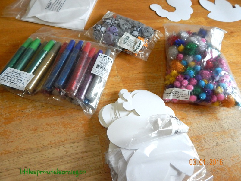 open ended art supplies from oriental trading company