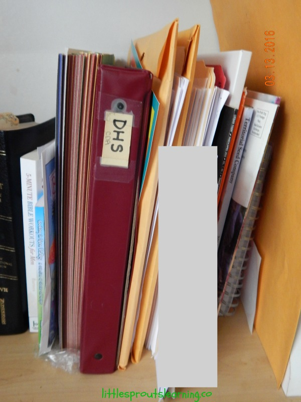 How I Keep My Home Daycare Organized: How To Organize Daycare Paperwork
