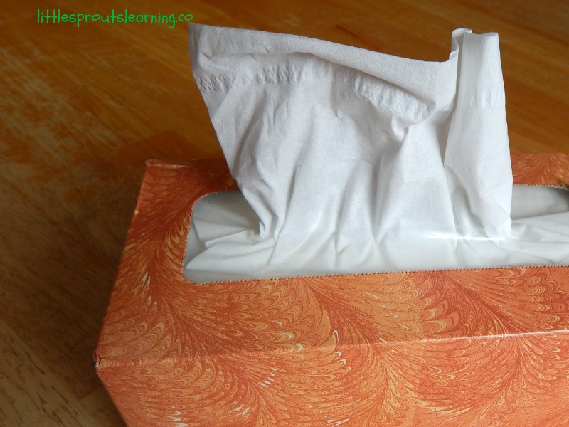 tissues for sick kids