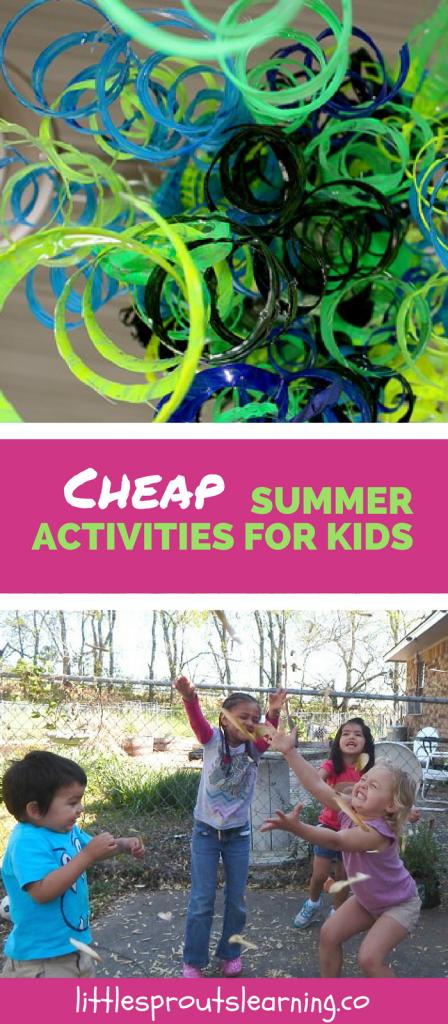 Cheap Summer Activities for Kids