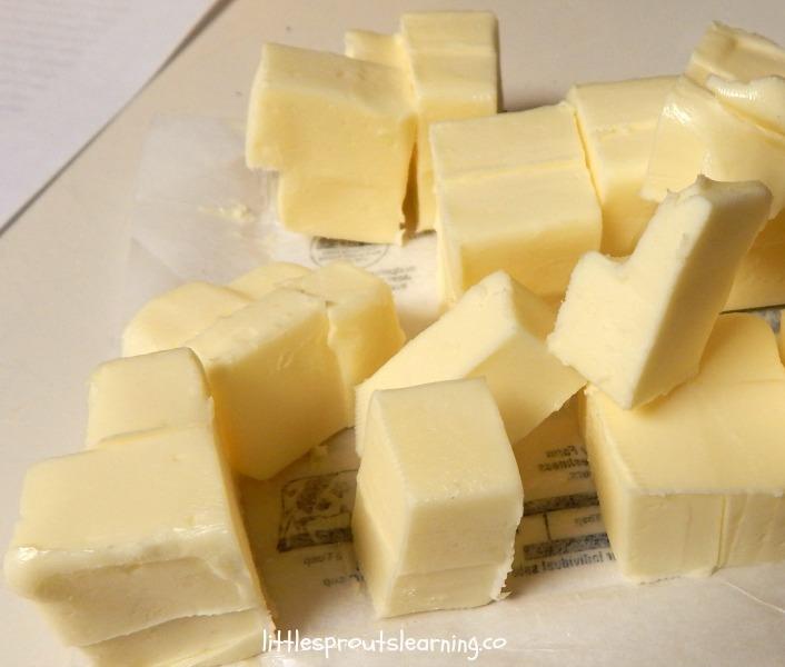 butter for empanada dough