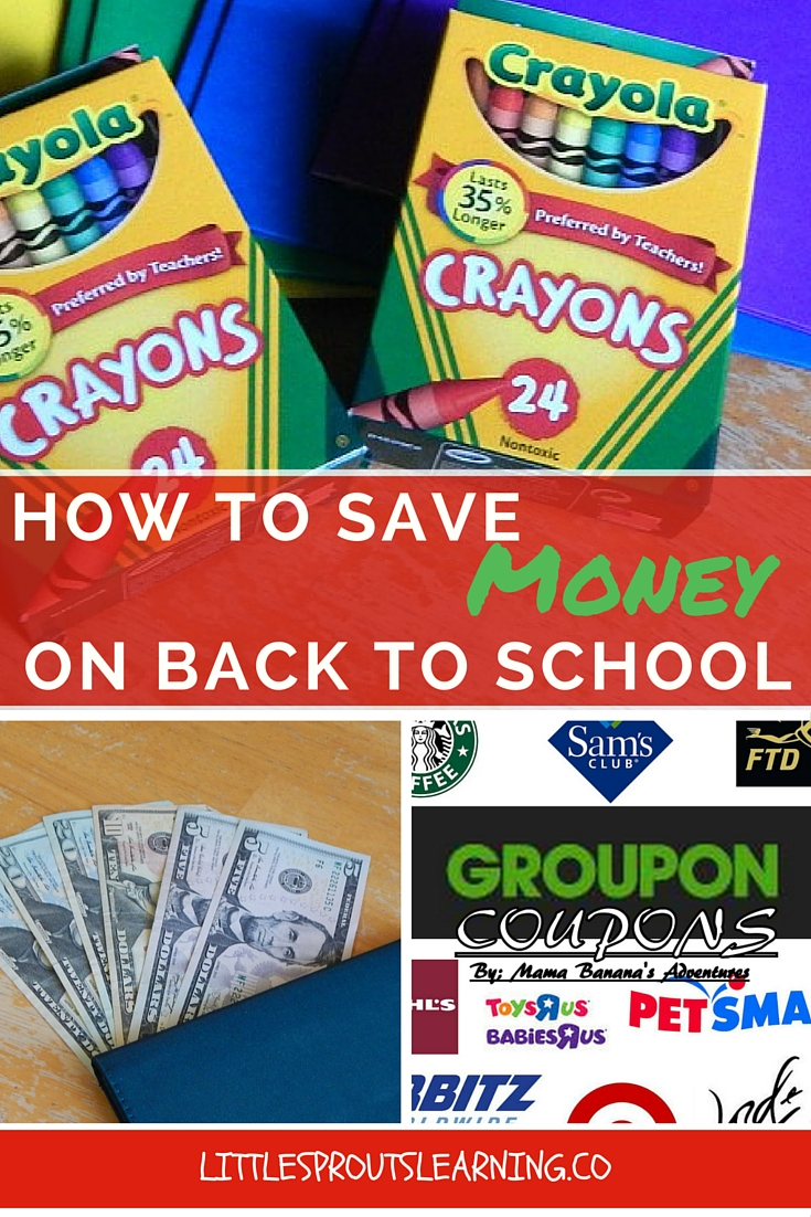 How to Save Money on Back to School
