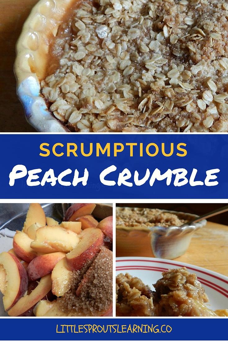 Scrumptious Peach Crumble