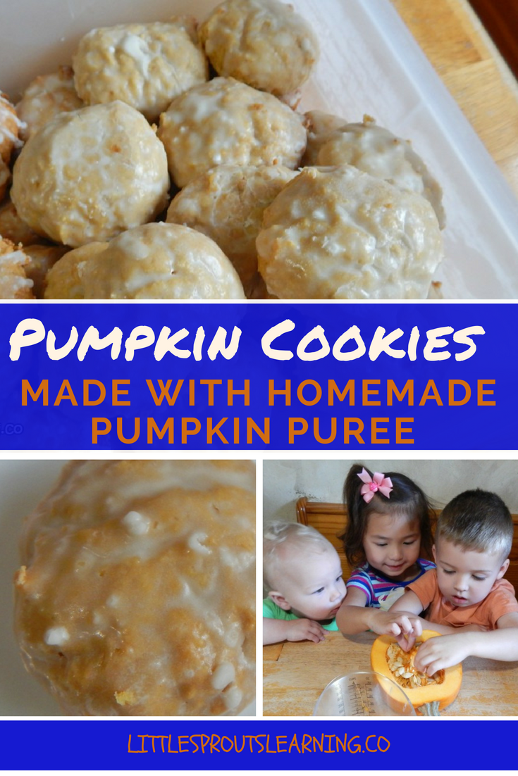 pumpkin-cookies-with-homemade-pumpkin-puree