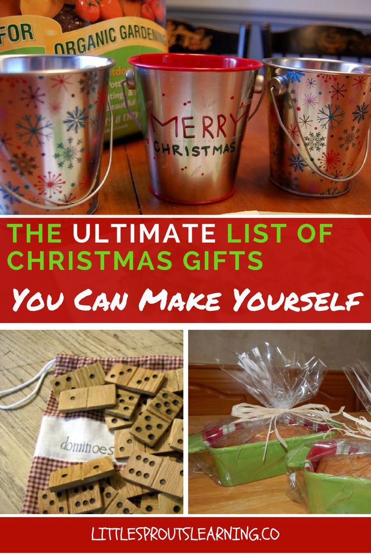 the ultimate list of christmas gifts you can make yourself