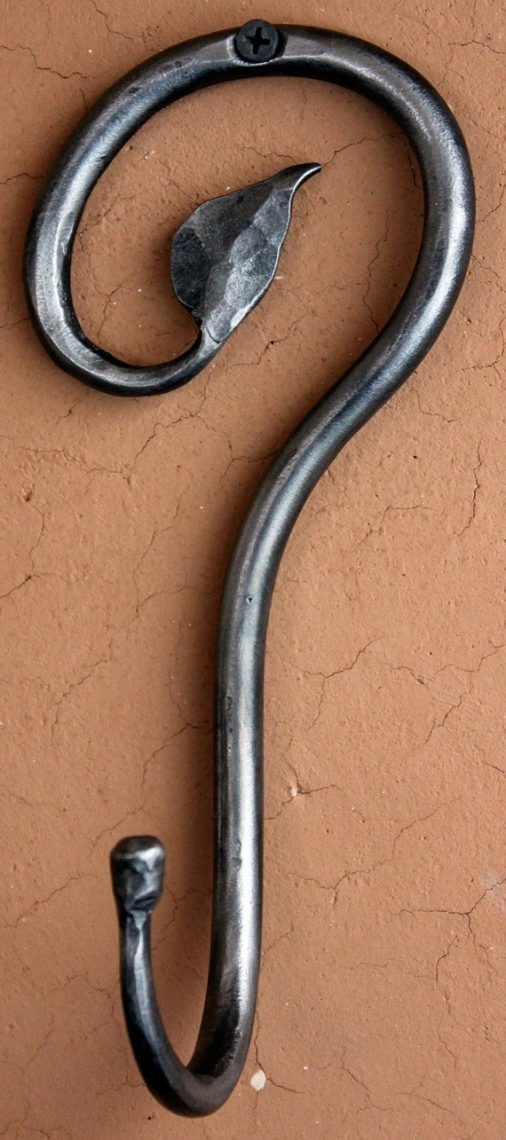 handmade-christmas-hand-forged-wrought-iron-hook