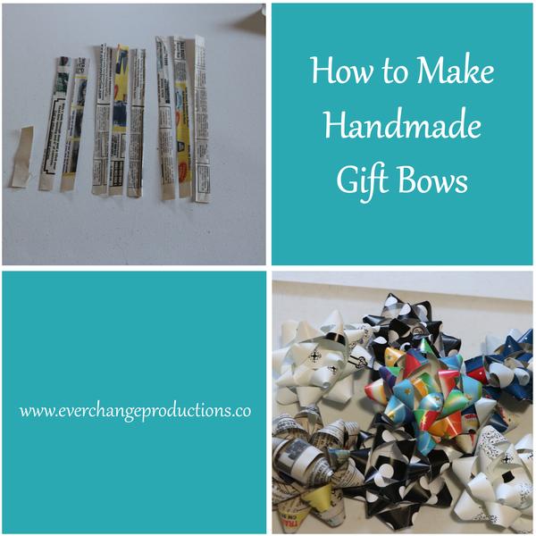 upcycling gift bows