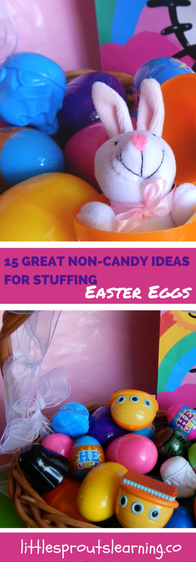 15 Great Non-Candy Ideas for Stuffing Easter Eggs