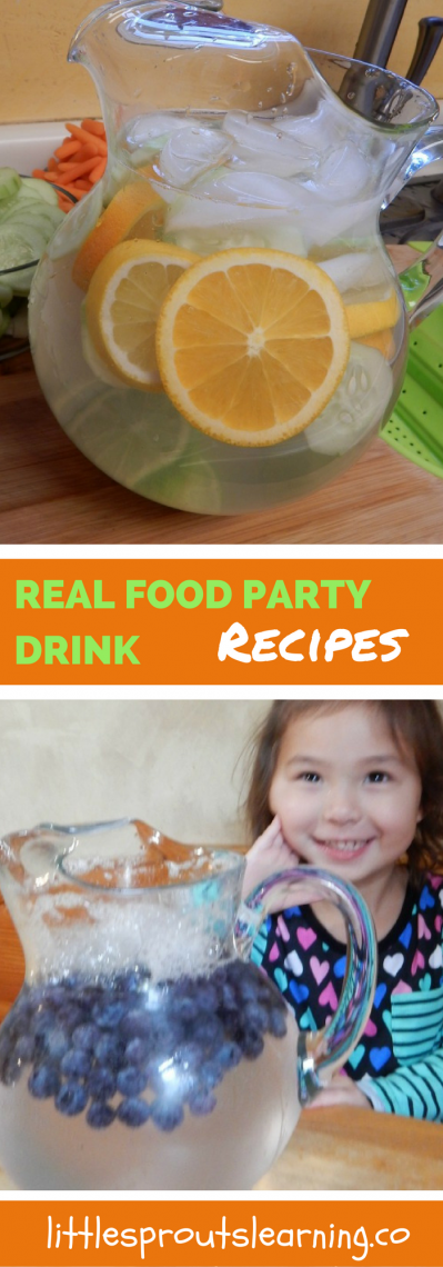 Real Food Party Drink Recipes