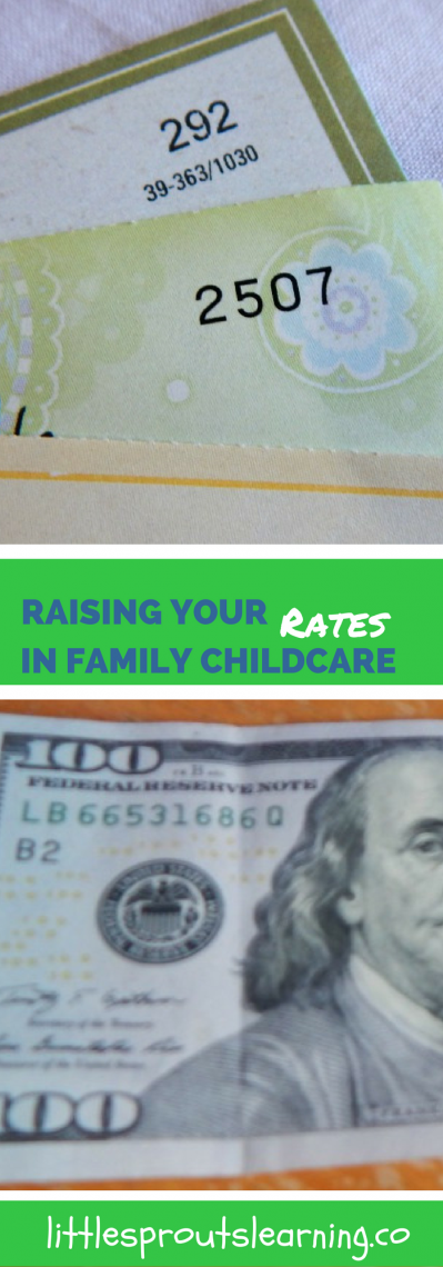 Raising Your Rates in Family Childcare