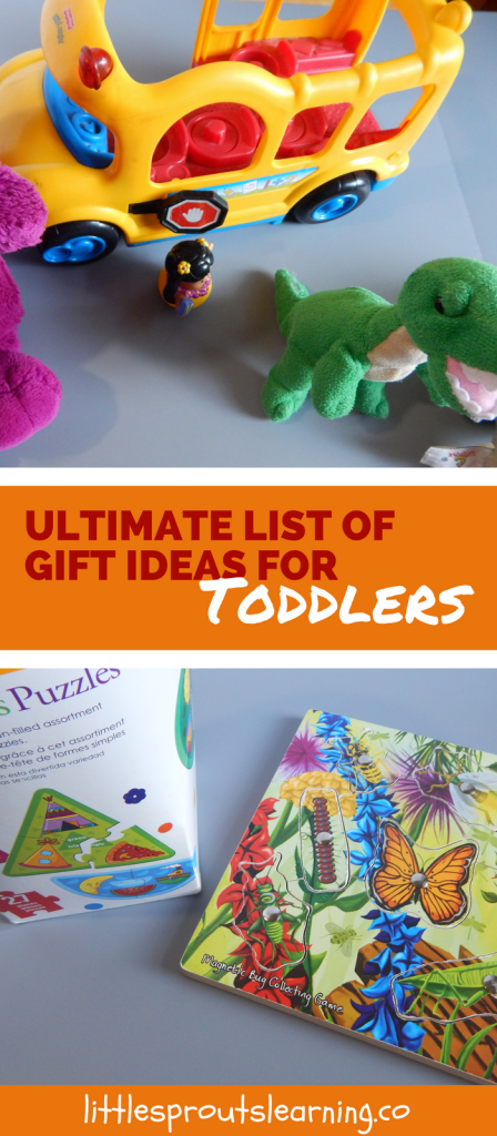 Ultimate List of Gift Ideas for Toddlers