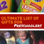 Ultimate List of Gifts for Preschoolers