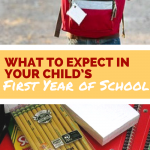 What to Expect in Your Child's First Year of School