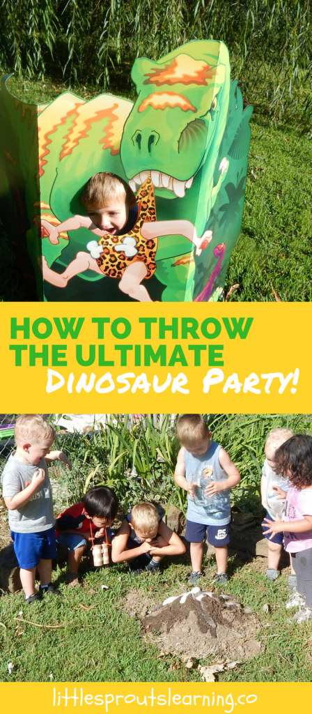 How to Throw the Ultimate Dinosaur Party