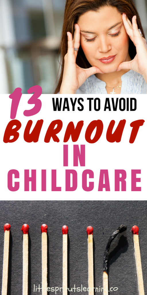 13 Ways to Avoid Burnout in Childcare