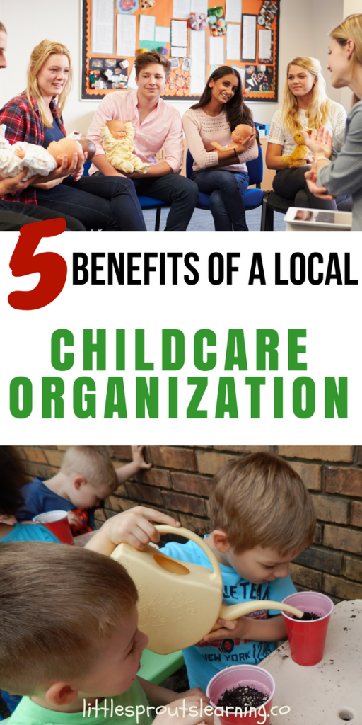 5 Benefits of a Local Childcare Organization