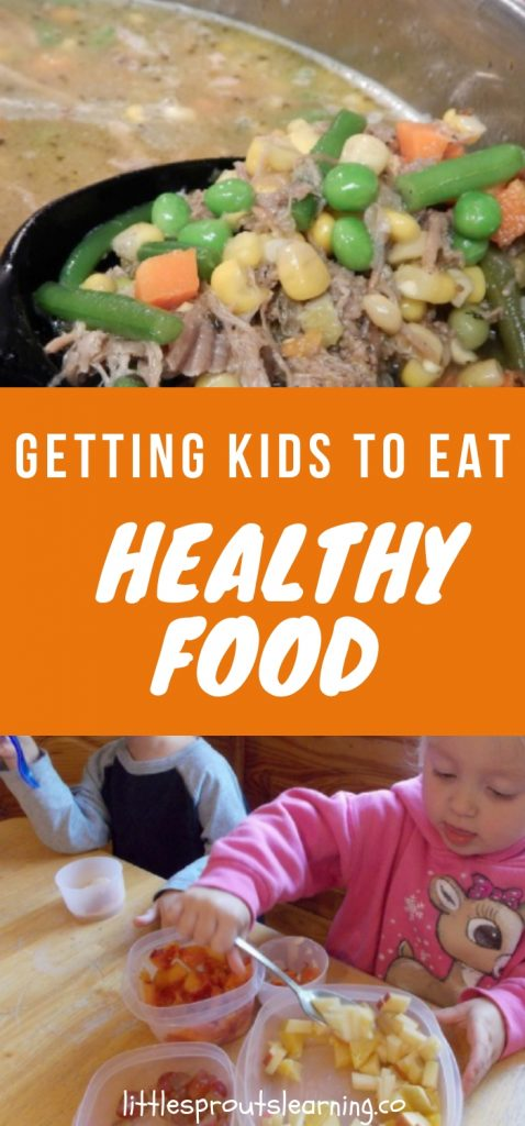 Getting kids to eat healthy food can be a challenge but there are several ways you can make improvements that aren't that hard.