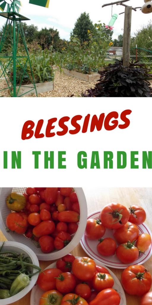 Blessings in the Garden