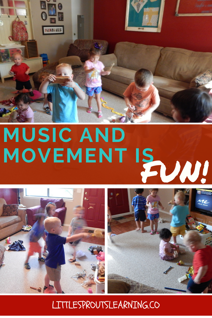 Music and Movement is FUN! - Little Sprouts Learning
