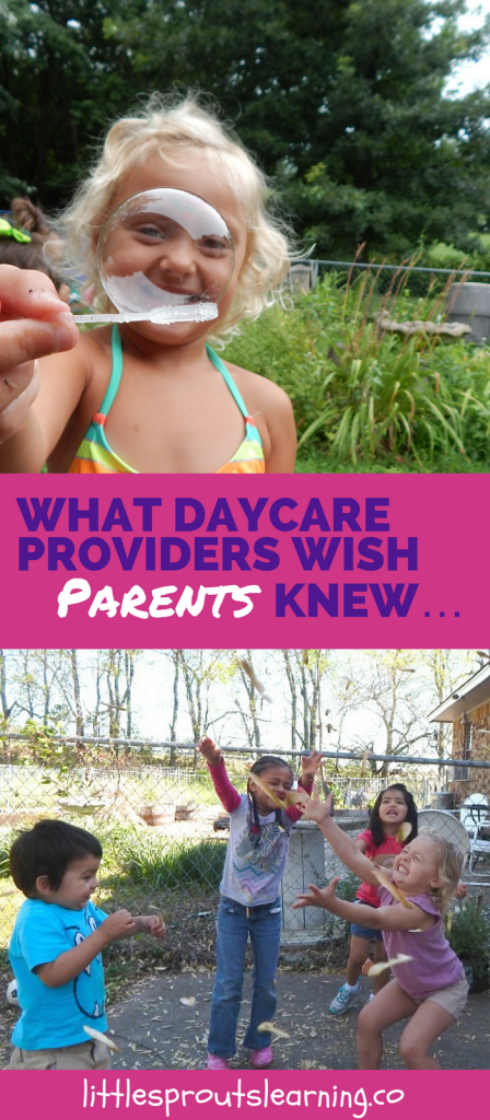 What Daycare Providers Wish Parents knew