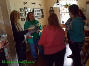 daycare home tour snacks