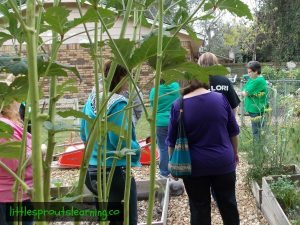 providers touring garden