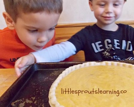 This kid-friendly pumpkin pie recipe is fun for kids to help you make. I hope you'll get in the kitchen with your kids for some kids cooking classes.