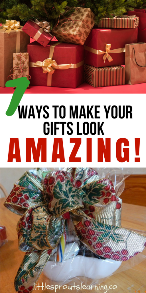 7 Ways to Make your Gifts Look Amazing!