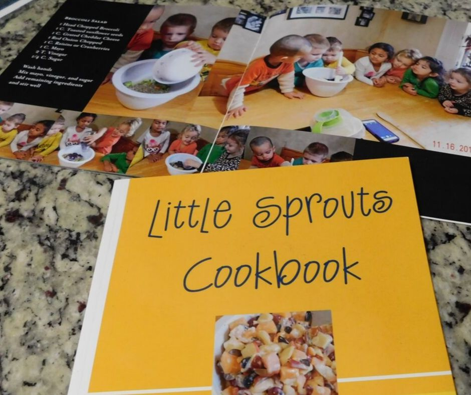 Shutterfly cookbook for kids