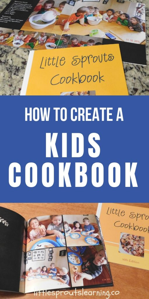 Kids love to cook and they learn so much from it. We turn cooking into a gift for the daycare parents by making a children's cookbook.