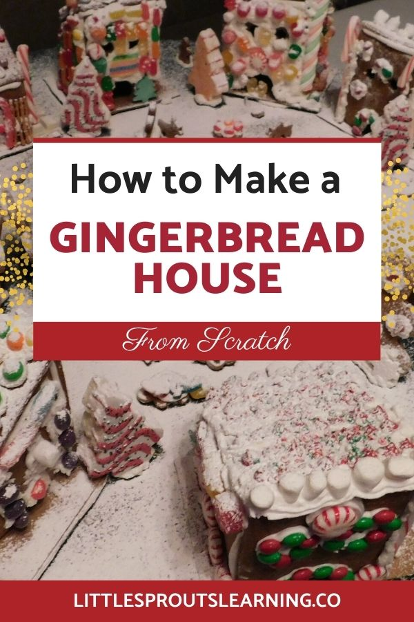 Making your own gingerbread creation and throwing a gingerbread decorating party is so much fun! It's not as hard as you think to put it together.