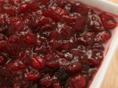 Fresh cranberry sauce is bomb-diggity.  It's beautiful, and so tart, sweet, and tasty.  It's also easy as pie, so there's no reason to buy the canned stuff or go without.  I used to never like cranberry anything until one Christmas my mom made cranberry salsa which is amazing!