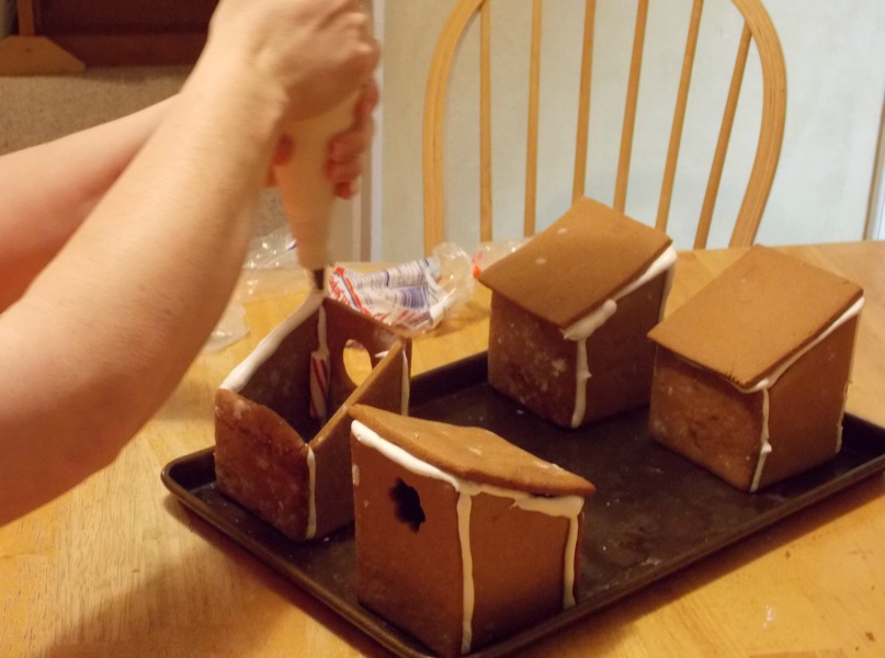 creating gingerbread