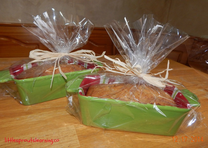 cute packaging for homemade bread-edible Christmas gifts