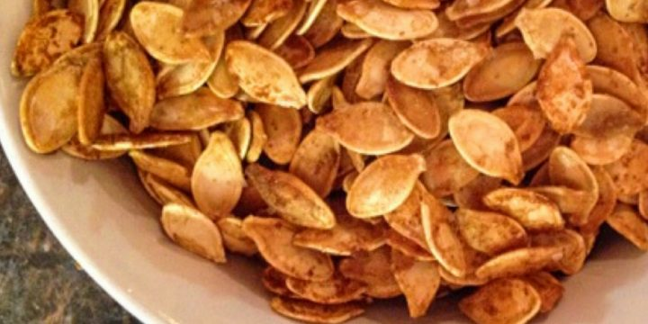 Check out how easy it is to make your own pumpkin seeds. Don't waste those tasty seeds inside the pumpkin.  They can be used to roast pumpkin seeds.