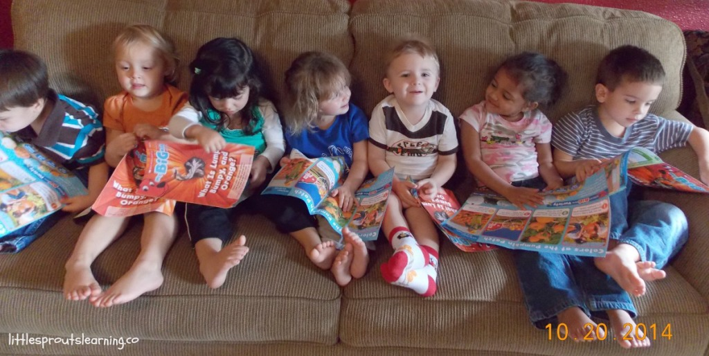 reading fun with kids