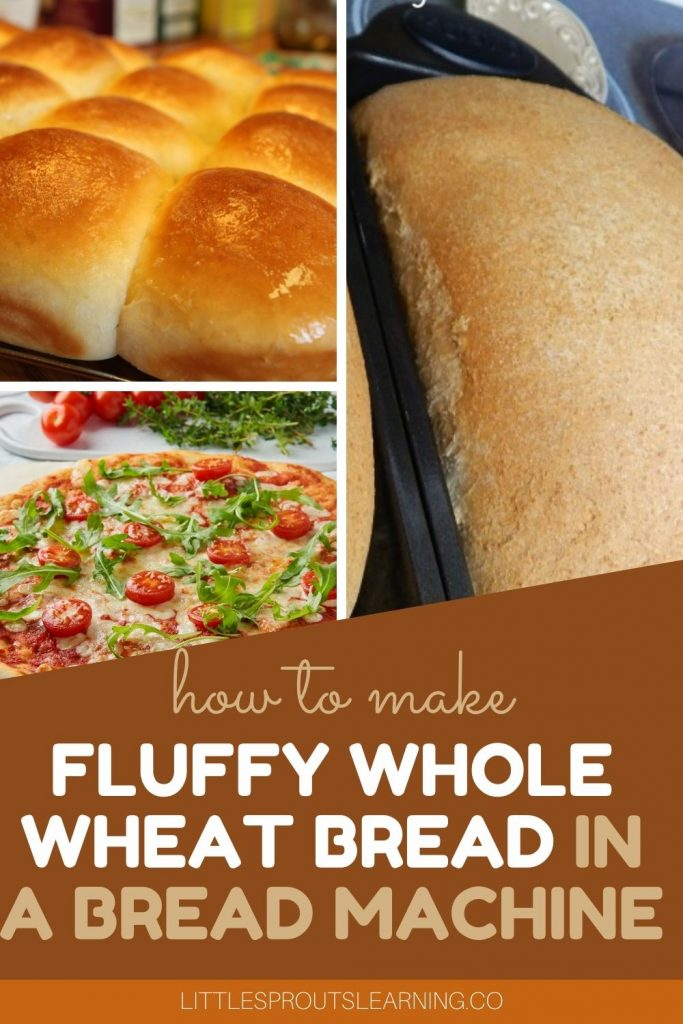 Do you wish you could find a really good whole wheat bread? Bread made with healthy whole grains that is light and fluffy and delicious? Make it yourself!