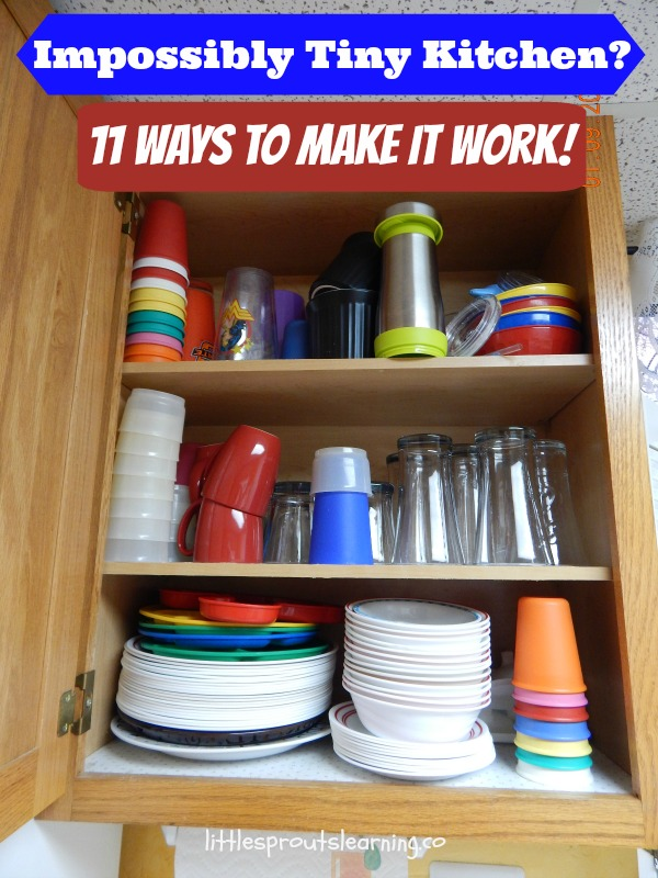 Impossibly Tiny Kitchen 11 Ways to Make it Work!