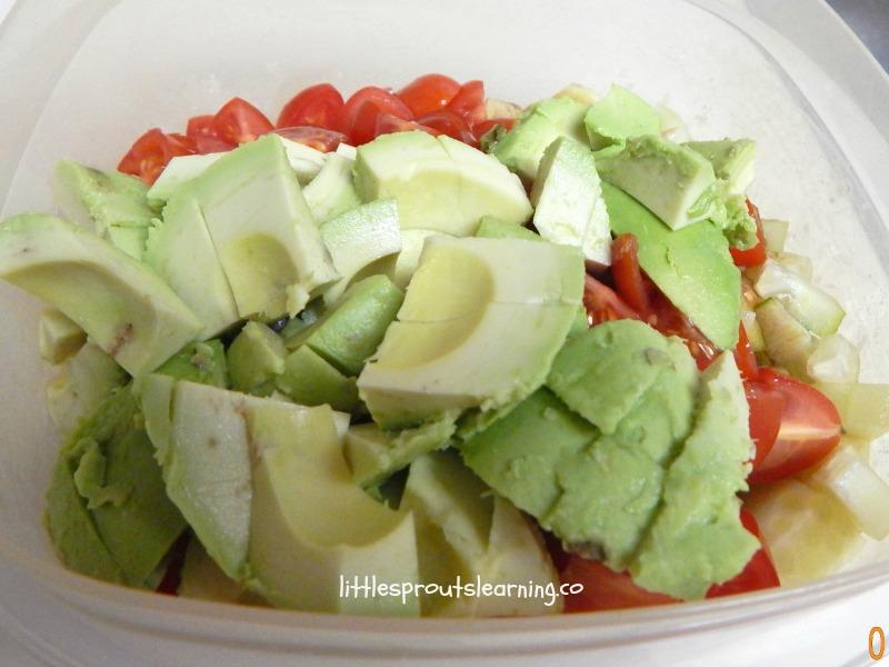 Balsamic Chopped Salad Recipe